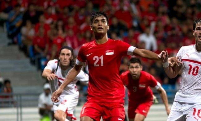 Singapore defender, performs well