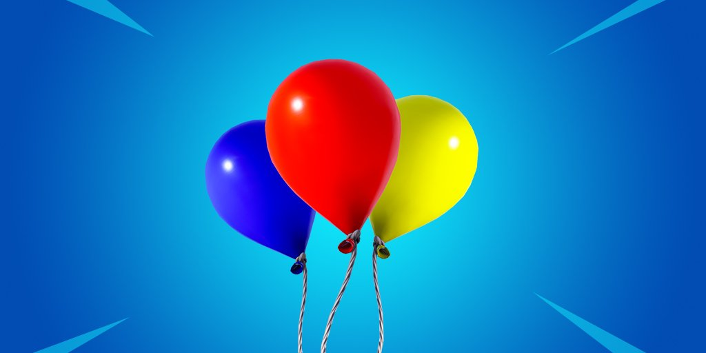 Balloons Will Give Fortnite Players The Ability to Reach New Heights