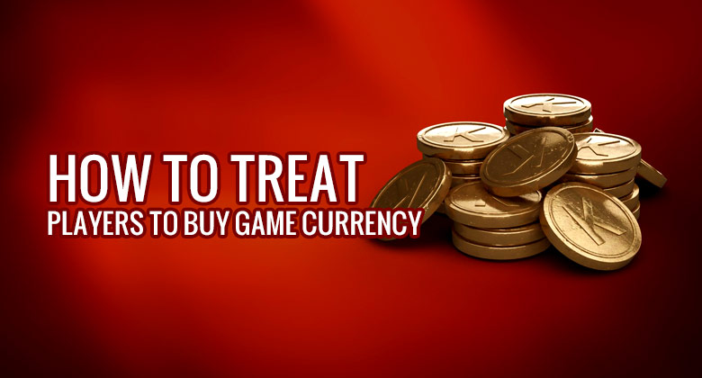 How to treat players to buy game currency